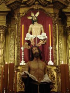 Imagen de Jesús despojado