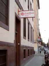 Fachada de la sede de Cáritas Granada.