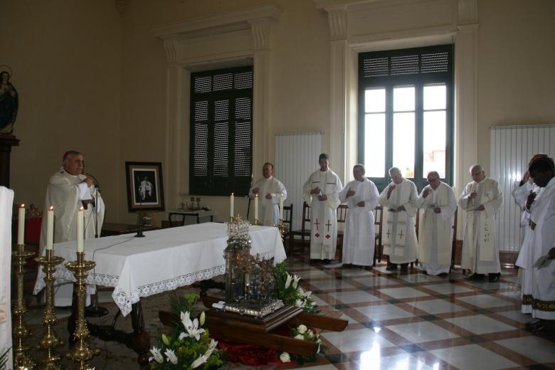 Eucaristía con los sacerdotes diocesanos y reliquias S. Juan de Ávila