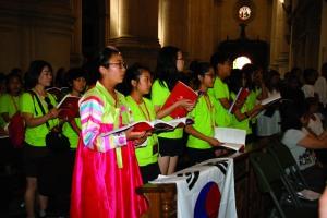 Coro de Corea del Sur.