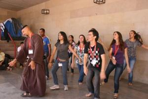 """Muchos miembros de esta Comunidad estuvieron en Granada en los """"Días en las Diócesis"""" de la JMJ Madrid."""