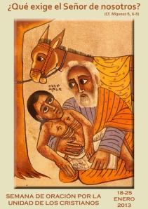 Cartel Semana Oración Unidad de los Cristianosweb