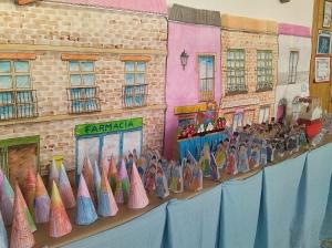 Exposición colegio_enseres Semana Santa
