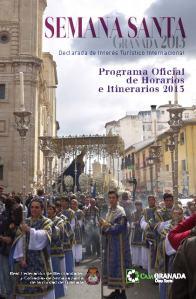 Cartel oficial Semana Santa 2013
