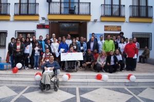 I Maratón de la Hospitalidad de Lourdes en Granada.