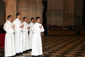 Seminaristas Admisión Órdenes