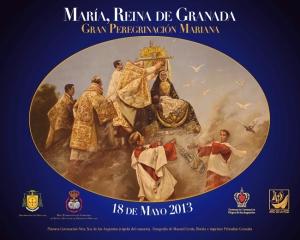 Cartel Oficial de la Peregrinación Mariana.