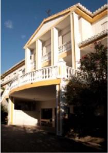 Casa de las aliadas, en La Zubia.