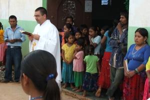 El Delegado de Misiones Gonzalo Marin en Rancho Viejo este verano(1)