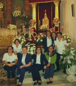 Algunas de las religiosas del grupo.