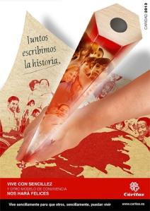 Cartel Cáritas Corpus 2013