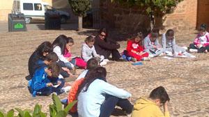 Niños del Colegio San Juan de Ávila.