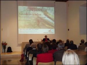 Conferencia Guillermo Peris, Semana de la familia