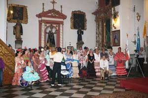 Coro de la Hermandad de la Virgen del Rocío de Granada.