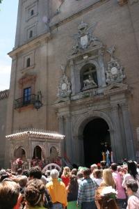 """El """"sin pecado"""" de la Virgen del Rocío frente a la Patrona de Granada."""
