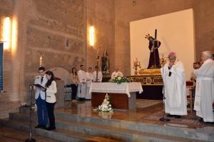 Celebración de la Eucaristía en la iglesia San Juan de los Reyes.