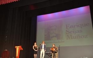 Actuación en el homenaje y entrega del premio póstumo a Enrique Seijas.