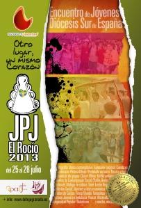 Cartel Encuentro en El Rocío-JMJ Río