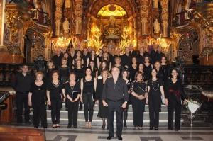 Agrupación Coral Ubetense, en la Basílica.