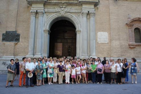 Alpajurra interior en basílica