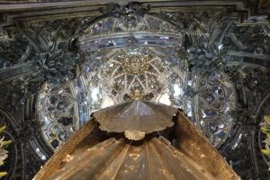 Camarín Virgen del Rosario. Foto: Pablo Fernández