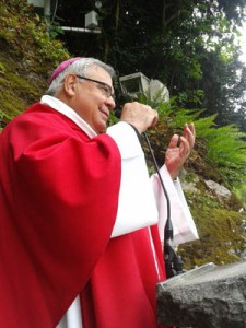 D. Javier gruta de Lourdes