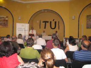 Durante la Eucaristía presidida por Mons. Martínez, en el Seminario Sierra Nevada-Hotel del Duque.