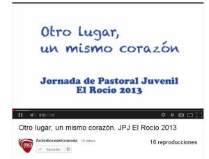 Pantallazo video JPJ 2013