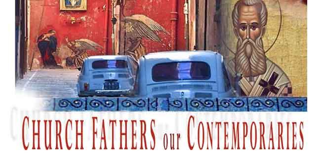 """Cartel del curso """"Los Padres de la Iglesia nuestros contemporáneos""""."""